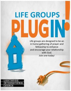 Life Groups host home info plug in